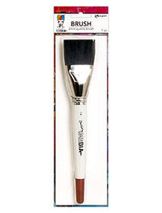 "Dina Wakley MEdia Stiff Bristle Brush, 2"" Tools & Accessories Dina Wakley Media"