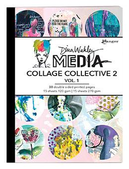 Dina Wakley MEdia Collage Collective 2 Vol. 1 Surfaces Dina Wakley Media