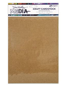 NEW! Dina Wakley Media Kraft Paper Pack