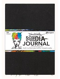 "Dina Wakley Media Large Journal 10"" x 14.25"" Journal Dina Wakley Media"