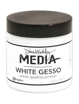 Dina Wakley Media Gesso White, 4oz Gesso Dina Wakley Media