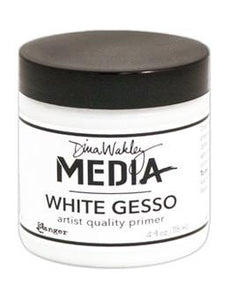 Dina Wakley Media Gesso White, 4oz