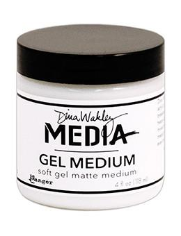 Dina Wakley Media Gel Medium, 4oz Adhesives & Mediums Dina Wakley Media