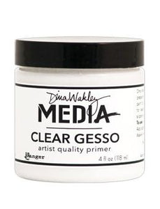 Dina Wakley Media Gesso Clear, 4oz Gesso Dina Wakley Media