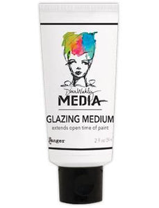 Dina Wakley Media Glazing Medium, 2oz Adhesives & Mediums Dina Wakley Media