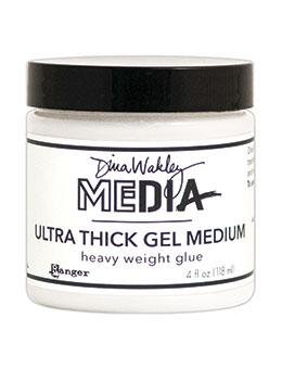 Dina Wakley Media Ultra Thick Gel Medium, 4oz Adhesives & Mediums Dina Wakley Media