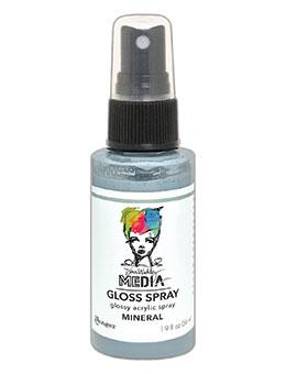 Dina Wakley Media Gloss Spray Mineral, 2oz Sprays Dina Wakley Media