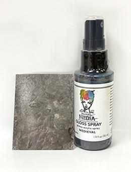 Dina Wakley Media Gloss Spray Medieval, 2oz Sprays Dina Wakley Media