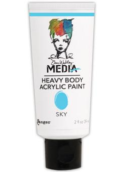 Dina Wakley Media Acrylic Paint Sky, 2oz Paint Dina Wakley Media