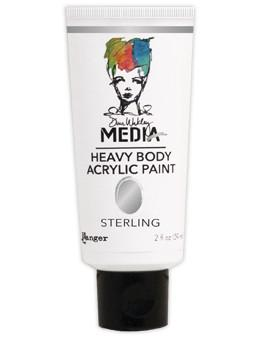 Dina Wakley Media Acrylic Paint Sterling, 2oz