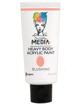 Dina Wakley Media Acrylic Paint Blushing, 2oz Paint Dina Wakley Media