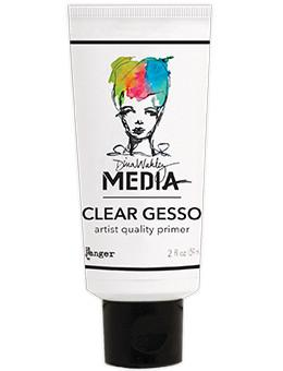 Dina Wakley Media Gesso Clear, 2oz