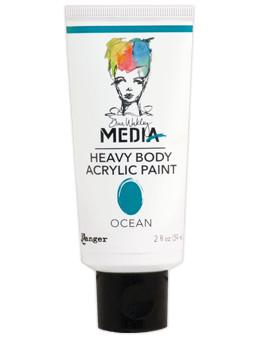 Dina Wakley Media Acrylic Paint Ocean, 2oz