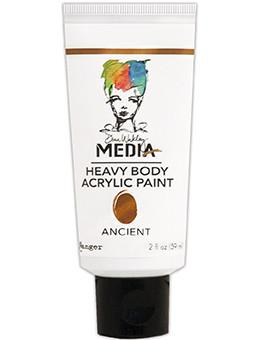 Dina Wakley Media Acrylic Paint Ancient, 2oz Paint Dina Wakley Media