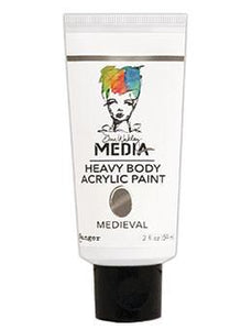 Dina Wakley Media Acrylic Paint Medieval, 2oz