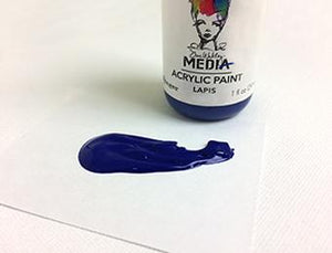 Dina Wakley Media Acrylic Paint Lapis, 1oz Paint Dina Wakley Media