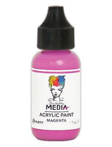 Dina Wakley Media Acrylic Paint Magenta, 1oz