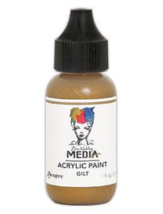 Dina Wakley Media Acrylic Paint Gilt, 1oz