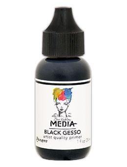 Dina Wakley Media Gesso Black, 1oz Gesso Dina Wakley Media