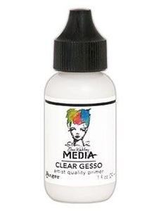 Dina Wakley Media Gesso Clear, 1oz Gesso Dina Wakley Media