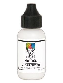 Dina Wakley Media Gesso Clear, 1oz
