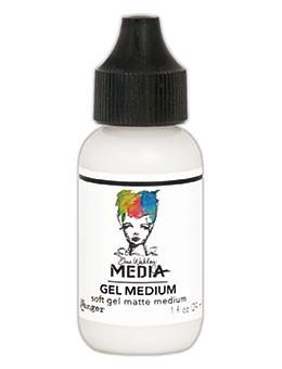Dina Wakley Media Gel Medium, 1oz Adhesives & Mediums Dina Wakley Media
