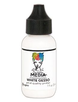 Dina Wakley Media Gesso White, 1oz Gesso Dina Wakley Media