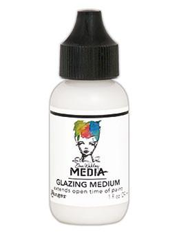 Dina Wakley Media Glazing Medium, 1oz Adhesives & Mediums Dina Wakley Media