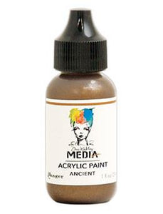 Dina Wakley Media Acrylic Paint Ancient, 1oz