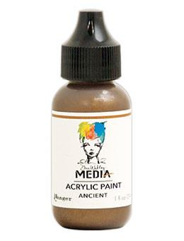 Dina Wakley Media Acrylic Paint Ancient, 1oz Paint Dina Wakley Media