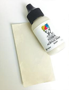 Dina Wakley Media Acrylic Paint Buff, 1oz Paint Dina Wakley Media