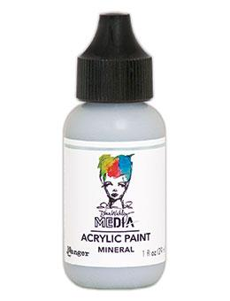 Dina Wakley Media Heavy Body Acrylic Paint Mineral, 1oz