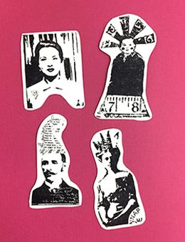 Dina Wakley Media Stamps Quirky People Stamps Dina Wakley Media