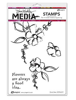 Dina Wakley Media Stamp Good Idea Stamps Dina Wakley Media