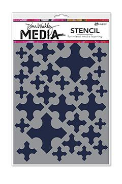 Dina Wakley Media Stencils Medieval Crosses