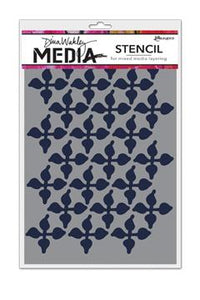 Dina Wakley Media Stencils Wallpaper Stencil Dina Wakley Media