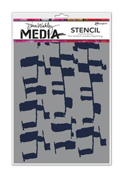 Dina Wakley Media Stencil Ladders