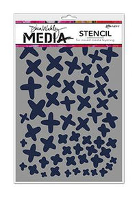 NEW! Dina Wakley Media Stencils X's