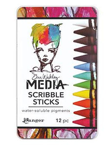 Dina Wakley Media Scribble Sticks Scribble Sticks Dina Wakley Media