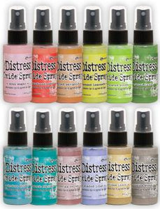 NEW! Tim Holtz Distress® Oxide® Ink Spray 12pk #2