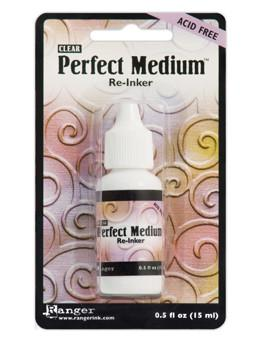 Perfect Medium™ Re-Inker, 0.5oz Re-Inker Ranger Brand