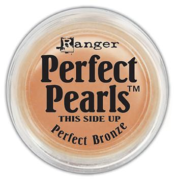 Perfect Pearls™ Pigment Powder Perfect Bronze, .25oz. Pigment Powders Ranger Brand