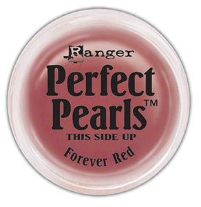 Perfect Pearls™ Pigment Powder Forever Red, .25oz. Pigment Powders Ranger Brand