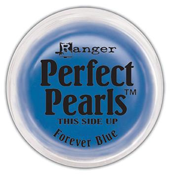 Perfect Pearls™ Pigment Powder Forever Blue, .25oz. Pigment Powders Ranger Brand