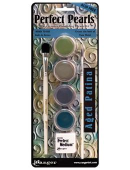 Perfect Pearls™ Pigment Kit Aged Patina Pigment Powders Ranger Brand