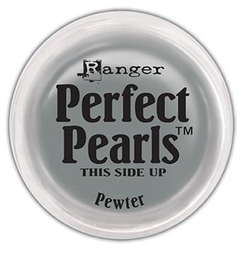 Perfect Pearls™ Pigment Powder Pewter, .25oz. Pigment Powders Ranger Brand