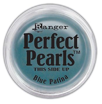 Perfect Pearls™ Pigment Powder Blue Patina, .25oz. Pigment Powders Ranger Brand