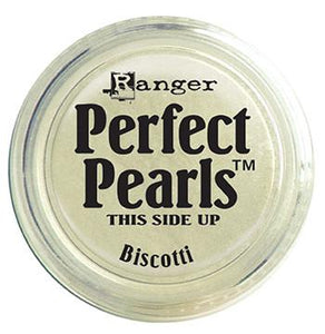 Perfect Pearls™ Pigment Powder Biscotti, .25oz. Pigment Powders Ranger Brand