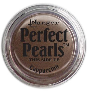 Perfect Pearls™ Pigment Powder Cappuccino, .25oz. Pigment Powders Ranger Brand