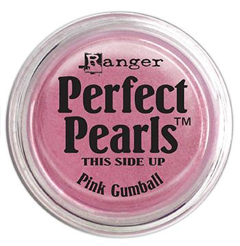 Perfect Pearls™ Pigment Powder Pink Gumball, .25oz. Pigment Powders Ranger Brand